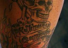 @GuyFieri tattoo: Kulinary Gangster