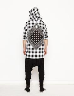 #Demi #sweatshirt #bandana http://nenukko.com/shop
