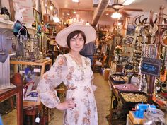 All the Stuff & Dresses for SALE! (not the Beautiful Girls!) JunkerVal's Antiques, Vintage Jewelry, & Clothing 3458 Bluebonnet Circle FW 76109 OPEN  FRIDAYS SATURDAYS 10-7 SUNDAYS 1-5