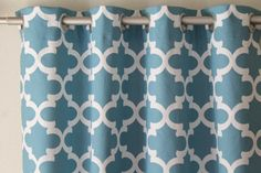 Curtains Pair of 25 wide panels Premier Print Fynn by LivePlush