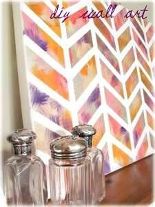 DIY Canvas Wall Art Ideas - Bing Images