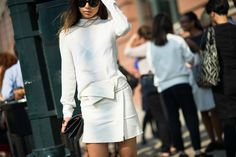 Street Style: Seen at NYFW Spring 2014, Day 2 - 7