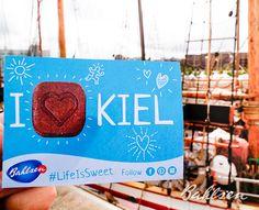 Hallo Kiel! Wir hatten eine tolle Zeit mit dir! // Hello Kiel! We had such a great time!#LifeIsSweet #Bahlsen #SweetOnStreets #Kiel