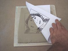 pottery classes There are a multitude of ways to do image transfer onto clay. In this tutorial, Doug Gray explains his simple and kid-friendly process for image transfer onto clay. Ceramics Projects, Clay Projects, Clay Crafts, Foto Transfer, Ink Transfer, Ceramic Techniques, Pottery Techniques, Art Clay, Clay Clay