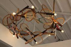 tennis racket lamps - Google Search