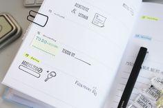 odernichtoderdoch | hay |kalender |schreibwaren | planner |lackschwarz