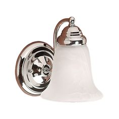 Shop Millennium Lighting 1-Light Chrome Standard Bathroom Vanity Light at Lowes.com