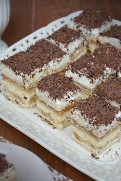 Ciasto Bananowa krówka Tiramisu, Tea Party, Ale, Food And Drink, Sweets, Baking, Ethnic Recipes, Gastronomia, Kitchens