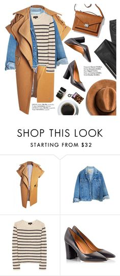 """""""#ootd"""" by punnky ❤ liked on Polyvore featuring A.P.C., Fratelli Karida, Loeffler Randall, Blondoll and Haute Hippie"""