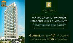 Apartamento Le Premier Paraíso 181 a 332m², 4 dorms (3 suítes), 3 a 6 vagas., São Paulo. Só na Alenkar Imóveis. www.alenkar.com.br/lepremier