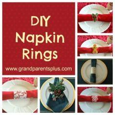 DIY :: Beautiful Holiday Napkin Rings