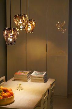 Blossom lampshade black - Be&Liv www.beandliv.com #homedecor #design #lamp