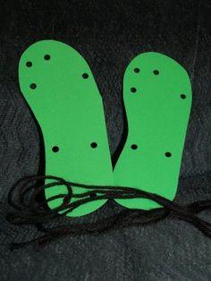 lacing sandals