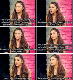 She perfectly explains the struggles women feel every day. | 22 Times Ariana Grande Was Actually Pretty Damn Surprising
