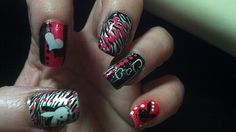 Another pic of HOT nails..lol by Idolwoman, via Flickr