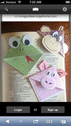 Cute bookmarks.