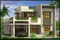 BELOW 2000 SQUARE FEET HOUSE PLAN AND ELEVATION - ARCHITECTURE KERALA