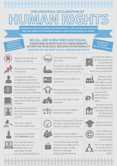 Universal Declaration of Human Rights Infographic