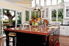 Traditional Kitchen with Farmhouse sink, Pendant light, Inset cabinets, Dura Supreme Cabinetry Chapel Hill Classic Panel
