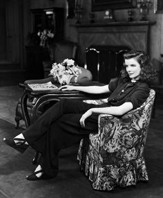 The divine Kate. I also LOVE the furniture of that time period--sits low to the floor.