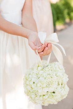 Flower girl flowers: http://www.stylemepretty.com/little-black-book-blog/2015/04/10/romantic-summer-wedding-at-pippin-hill-farm-vineyards/   Photography: Katelyn James - http://katelynjames.com/
