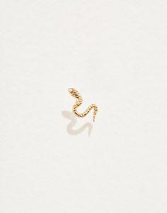 Piercing Shop, Lobe Piercing, Piercings, Snake Jewelry, Gold Jewelry, Jewellery, Malachite Jewelry, Diamond Eyes, Pamela Love