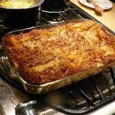 Quick and Easy Lasagne Recipe Main Dishes with beef, prepared lasagne, eggs, ricotta cheese, mozzarella cheese, parmesan cheese, pasta sauce
