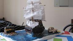 Pirate Ship Cake 2014
