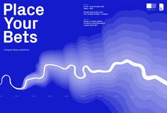 New in the series of exhibitions organised by London's data design agency Signal-Noise,