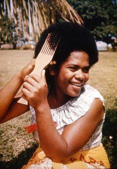 #Fijian hair comb. #Culture #Travel