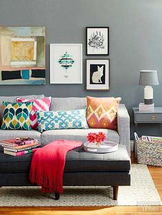 Ready to give your home an easy update? Start with one of the decorating trends we are in love with right now -- both the ones still going strong even though they've been around for awhile, and the up-and-coming ideas you'll want to embrace now to solidify your status as a trendy maven of decor.