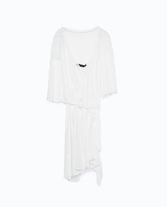Pleated dress Zara