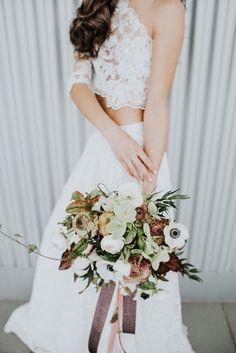 Wedding Dresses, Floral, Fashion, Bride Dresses, Moda, Bridal Wedding Dresses, Fashion Styles, Weeding Dresses, Flowers