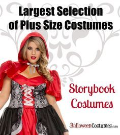 find this little red riding hood costume and the largest selection of all plus size costumes girl halloween