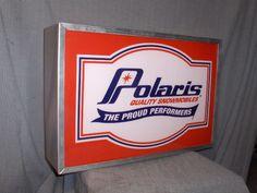 POLARIS PROUD DEALER SIGN