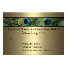 >>>Coupon Code          Peacock Wedding RSVP Invites           Peacock Wedding RSVP Invites In our offer link above you will seeReview          Peacock Wedding RSVP Invites Review from Associated Store with this Deal...Cleck Hot Deals >>> http://www.zazzle.com/peacock_wedding_rsvp_invites-161586734304438462?rf=238627982471231924&zbar=1&tc=terrest