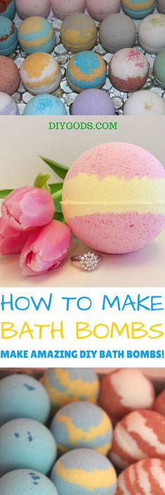 Bath Fizzies or otherwise known as Bath Bombs are easy to make and make great gifts. They can easily be customized with fragrances and moisturizing ingredients. It only takes three