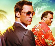 Burn Notice | USA Network  Michael Weston and Sam Axe . . . could it get any sexier?