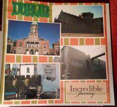 Ireland Scrapbook page