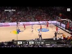 France vs Spain 65-52 Full Match Basketball World Cup 2014