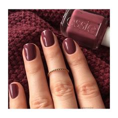 Essie Nail Polish in Angora Cardi takes the crown as the most-pinned manicure colour. Fall Manicure, Manicure Colors, Fall Nails, Fall Nail Polish, Essie Nail Polish Colors, Essie Nail Colors, Nail Polish Hacks, Manicure Ideas, Summer Nails