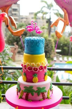 festa-tropical-infantil-tema-jardim-dos-flamingos-2