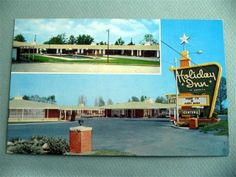 Holiday Inn Motel ALLENDALE SOUTH CAROLINA SC Vintage Postcard OLD SIGN