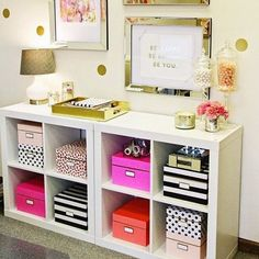 Ikea Expedit Home Office ikea expedit shelving unit in our office | home decor | pinterest