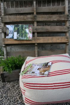 retropolitan: From $3 IKEA floor mat to flippin' fabulous floor pouf.