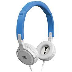 Jbl T300A Kulaklık Control Talk OE Mavi/Beyaz Telefon Aksesuar