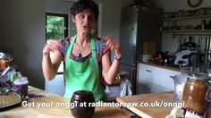 Want to make probiotic rich #Sauerkraut with Onggi? Learn from Gabriella…