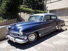Chrysler: New Yorker DeLuxe 1954 chrysler new yorker deluxe 331 hemi v 8 235 hp