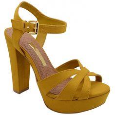 Sandália em tecido 15-6702