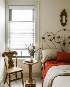 Bring out the best in your bedroom windows. Get the look at theshadestore.com. #LoveYourWindows // Design: Zio and Sons for This Old Hudson Maison Window Treatments, Son Bedroom, Shade Store, Metal Blinds, Home Decor Decals, Beautiful Bedrooms, Home Decor, Bedroom Windows, The Shade Store